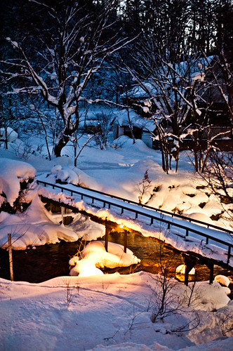 Snow in Japan