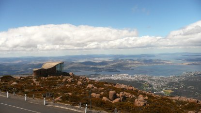 Hobart and Mount Wellington Observation Deck