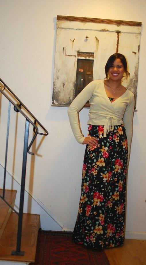 long floral dress forever21