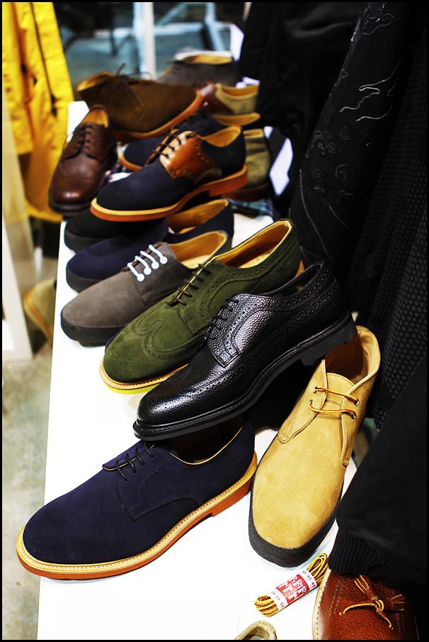 Tuukka at Mens Fashion Week, Paris - Mark McNairy New Amsterdam Buck Shoes and Long Wing Brogues at Capsule