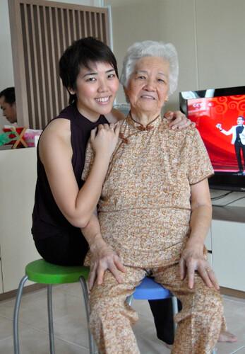 My maternal grannie & I