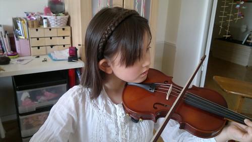 Julia on Violin