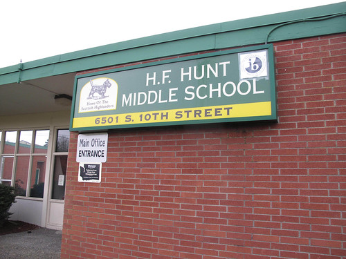 H.F. Hunt Middle School by Gexydaf