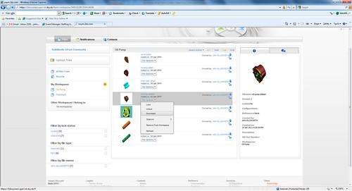 n!Fuze: Web client with oil pump