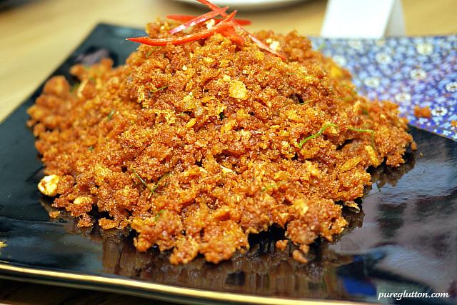dry curry catfish