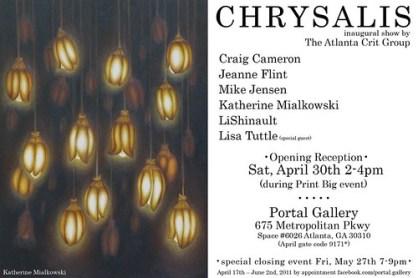Chrysalis show announcement