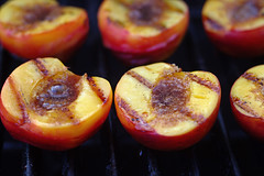 Grilled peaches II