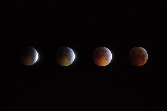 Lunar Eclipse Solstice 2010 (composite)