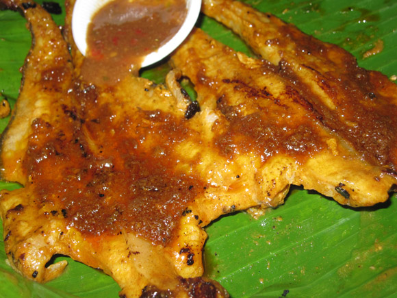 Malaysian Grilled Stingray