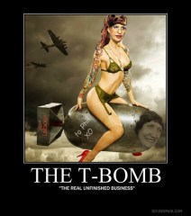 The T-Bomb is Judith Tizard