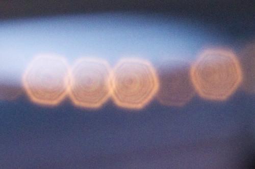 Canon 70-300mm DO lens diffractive optics bokeh target bullseye