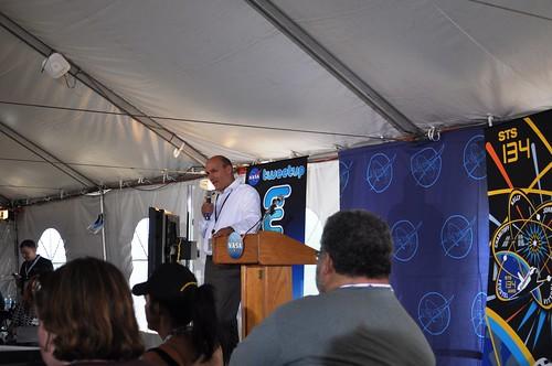 "Waleed Abdalati, NASA Chief Scientist, ""As chief scientist I'm blown away by something new."""
