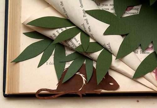 Altered Book Thumbelina-6