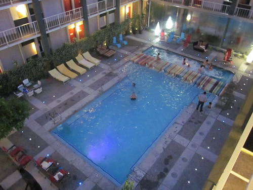 Pool at the Clarendon