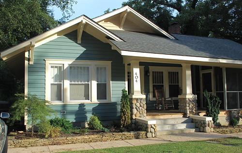 bungalow front exterior