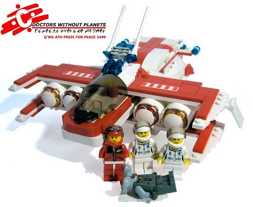 LEGO Lord Pappadhum Ploughshare Evacuation Vehicle