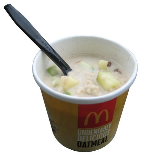 McDonald's Fruit & Maple Oatmeal