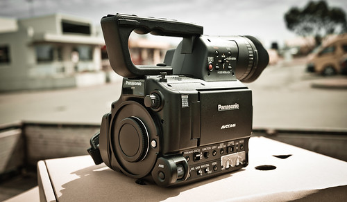 Late Christmas Present!!  Panasonic AF102