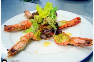 [西餐]海鮮類 蒜味奶油烤大蝦