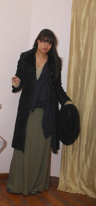 long skirt casual outfit