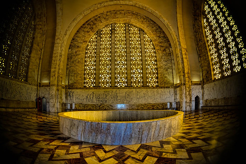 As you enter the Voortrekker Monument