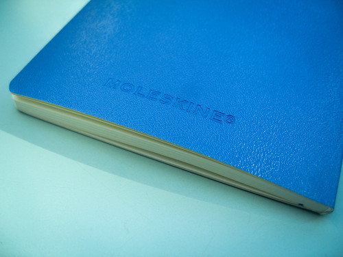 Moleskine - Flexible blue cover