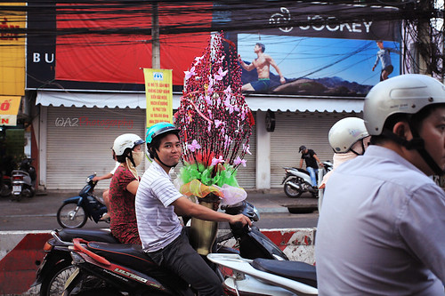 Streets in HCMC