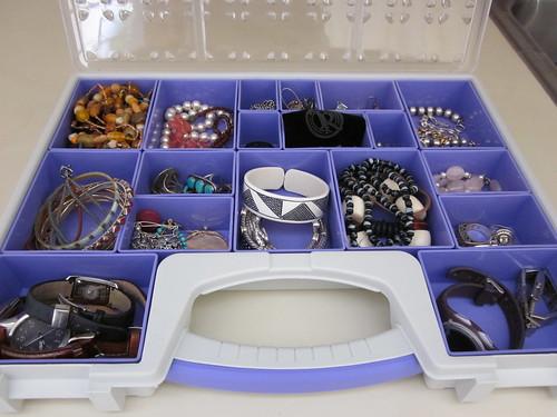 You say toolbox, I say jewelry wrangler!