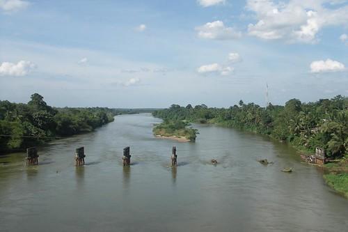 sungai kampar desa rantauberangin kecamatan bangkinang barat kabupaten provinsi riau
