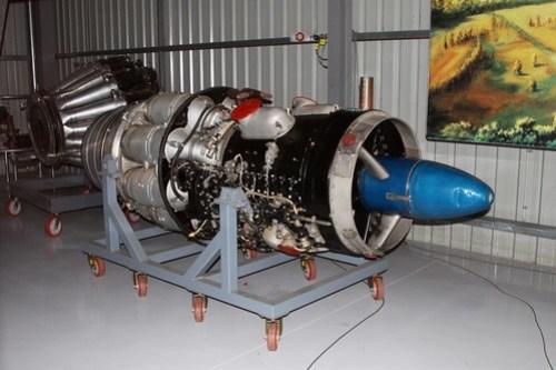 Rolls-Royce Avon RA-7 Mk 109 jet engine