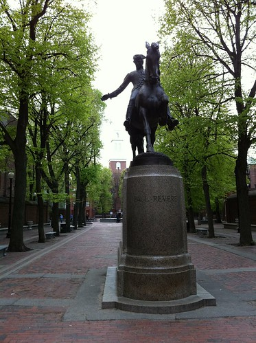 Paul Revere and the church
