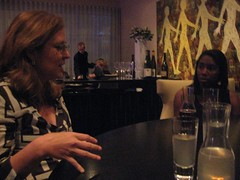 Elise and Kathy - Dinner at Grant Achatz's Alinea in Chicago
