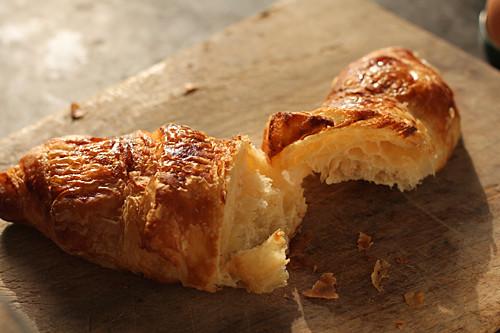 broken croissant