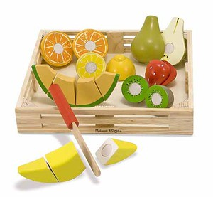 cutting fruit Melissa & Doug