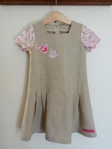 Tulip dress (Sunny sailor dress)