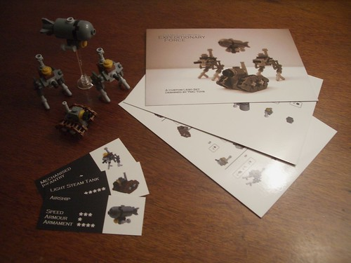 Creations for Charity - Micro Steampunk Custom Set