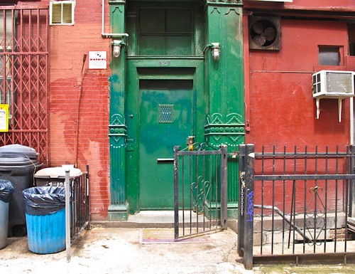 Eldridge Street Doorway