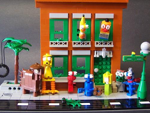 LEGO monsterbrick Sesame Street