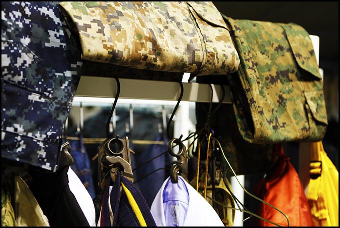 Tuukka at Mens Fashion Week, Paris - Mark McNairy New Amsterdam Clothing Collection's Digital Camo Prints at Capsule
