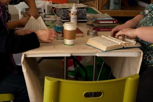 Altered book workshop-9