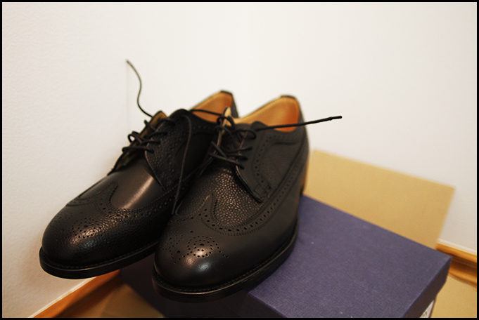 Mark McNairy x Engineered Garments Long Wing Brogues