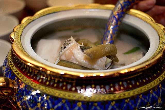 cod lotus stem soup