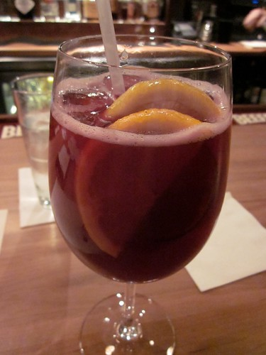 Bubbly sangria