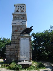 Monumentul vânătorilor de munte din Târgu Neamț