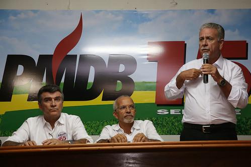 Reunião com as lideranças do deputado Garibalde