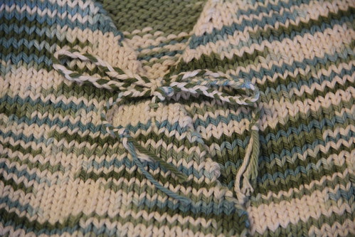 Baby kimono wrap: finished