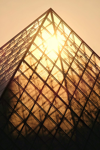 Sunrise at the Louvre