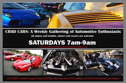 "CARLSBAD CA USA - ""Carlsbad Cars - Weekly Gathering"" Weekly Saturday - August 15 - 7am to 9am  - A weekly gathering of automotive enthusiast all makes and models tuners and racers are welcome - credit: www.SoCalCarCulture.com • <a style=""font-size:0.8em;"" href=""http://www.flickr.com/photos/134158884@N03/20366444550/"" target=""_blank"">View on Flickr</a>"