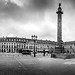 Paris-Place Vendôme-N&B