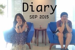 照片日記 嘎嘎的2015年09月日記簿 / 三年十一個月